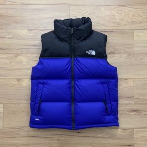 🖲The North Face 700 Down Nupste Vest+Packable Hod